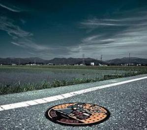 Необычные канализационные люки в Японии
