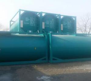Танк-контейнер для гсм бензин, дизель