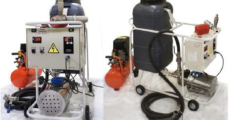 Оборудование для промывки теплообменников БУЧА