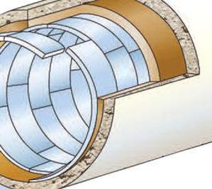 Технология санации для больших и не стандартных диаметров