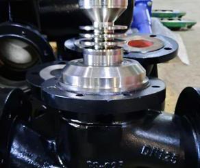 Модернизация высокотемпературного регулирующего клапана АСТА Р11
