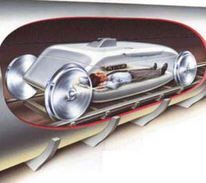 Скоростной пассажирский трубопровод