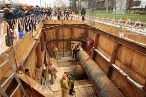 Строительство газопровода к ТЭЦ-16 завершено в рекордные сроки