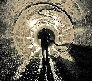 Подземные тоннели под Лондоном и Нью-Йорком