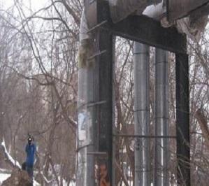 Компанию в Балашихе оштрафовали за отсутствие теплоизоляции на трубах