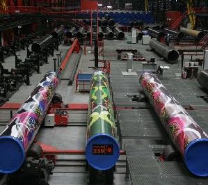 ЧТПЗ признали лидером по выпуску труб большого диаметра