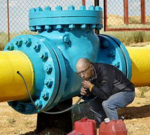 Украина перекрыла подачу газа в Луганск и Донецк