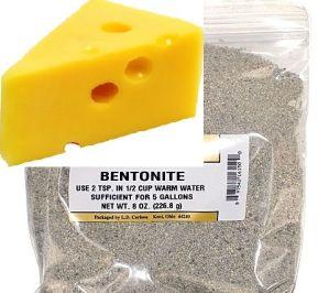 Бентонит со вкусом сыра