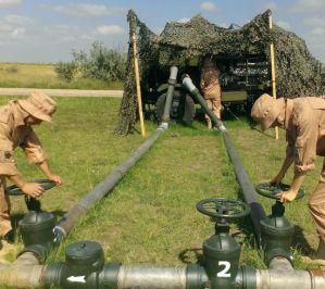 Трубопроводные войска напоят Крым