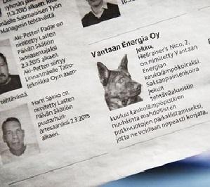 В Хельсинки искать протечки в трубах будет собака