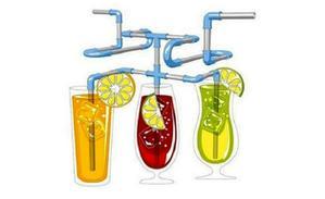 """Мини """"трубопровод"""" для напитков"""
