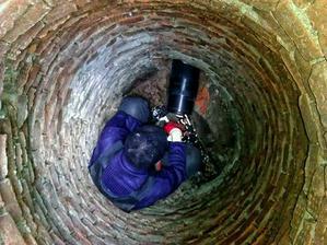 Бестраншейный ремонт канализации в районе исторической застройки