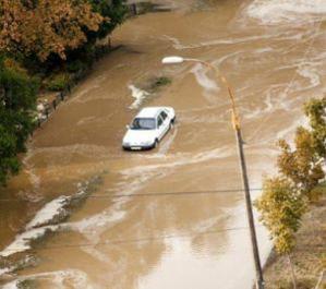 Киев затопило из-за прорванного водопровода