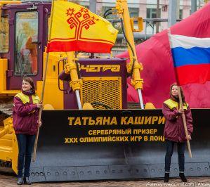 Успехи российских спортсменов и успехи бульдозеров ЧЕТРА
