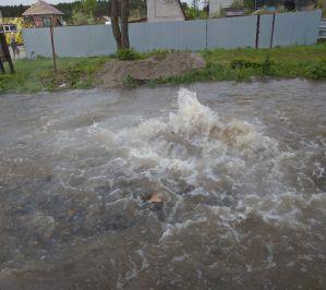 Опрессовка сетей в Барнауле закончилась потопом
