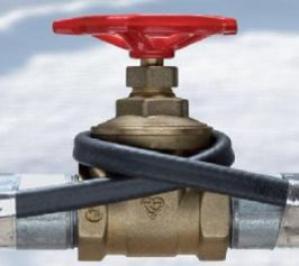 Комплексная защита труб от замерзания: варианты утепления
