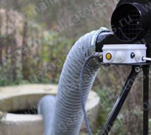 ВСП-500М вентилятор для продувки колодцев, переносной