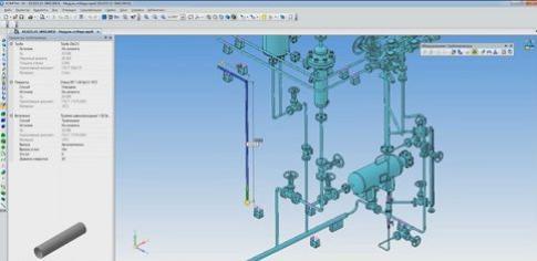 """Приложение """"Оборудование: Трубопроводы"""" для КОМПАС-3D"""