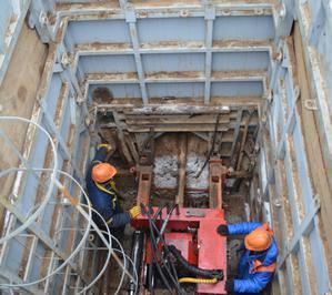 МНБШ-600 работа на глубине 6 метров